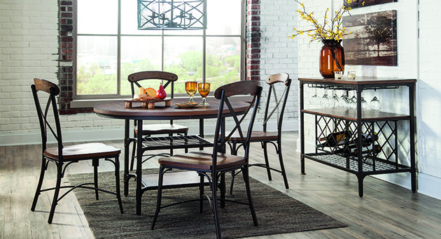 Dining Room Builders Model Home Furniture